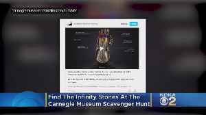 Find The Infinity Stones At The Carnegie Museum Of Natural History's Avengers Scavenger Hunt [Video]