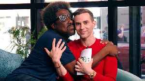 W. Kamau Bell Drops Some Wisdom (with Adam Rippon)! [Video]