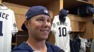 Padres infielder Ty France on getting called to big leagues; manager Andy Green on role [Video]