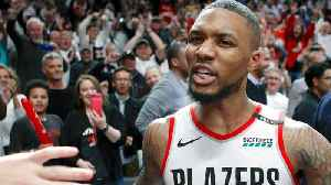 News video: Damian Lillard Said The Night Before The Blazers Would Beat The Thunder