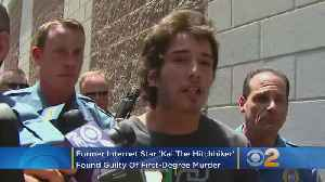 Former Internet Star 'Kai The Hitchhiker' Found Guilty Of Murder [Video]