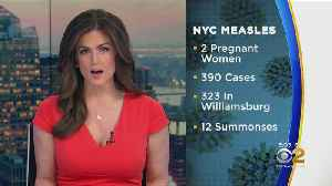 More Measles Cases In New York, New Jersey [Video]
