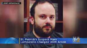 Man Faces Arson Charges For St. Patrick's Incident [Video]