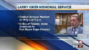 Memorial service fro Larry Kiker planned next month in Fort Myers [Video]