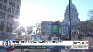 Under a new proposal you could have more time to pay off a Madison parking ticket [Video]
