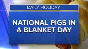 Daily Holiday - National pigs in a blanket day [Video]