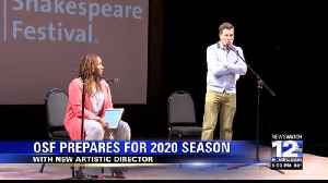 OSF announces 2020 season and new Artistic Director [Video]