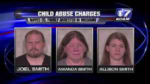 Child abuse charges filed in Oklahoma [Video]
