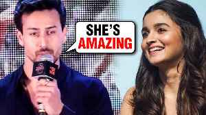 Tiger Shroff REACTS On Working With Alia Bhatt | SOTY 2 [Video]