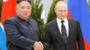 Vladimir Putin and Kim Jong Un meet for the first time [Video]