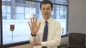 Pete Buttigieg Shows Appreciation To Deaf Activist For His Support [Video]