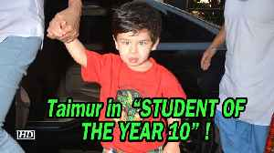 "Taimur in ""STUDENT OF THE YEAR 10"" ! [Video]"