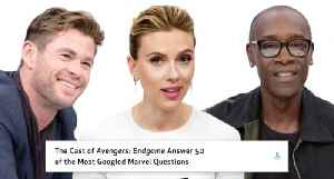 Avengers: Endgame Cast Answer 50 of the Most Googled Marvel Questions [Video]