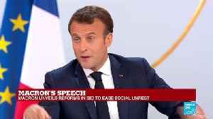 Macron press conference: 'There are parts of society that have fallen by the wayside' [Video]
