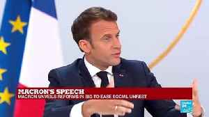 Macron press conference : 'Have we gone down the wrong road in the past two years? I do not think so' [Video]