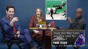 Paul Rudd, Don Cheadle, & Karen Gillan Answer 'Avengers' Fan Questions [Video]