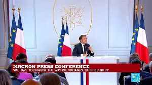 Macron: 'To implement the reform we need to disband the Ecole Nationale d'Administration' [Video]