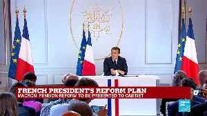 Macron on Benalla: 'A great deal has been made out of this case... too much probably' [Video]