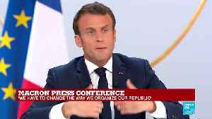 REPLAY - Watch French president Emmanuel Macron full press conference [Video]