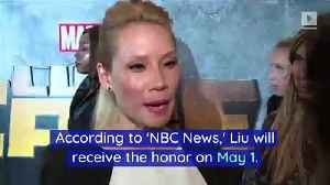 Lucy Liu to Receive Hollywood Walk of Fame Star [Video]