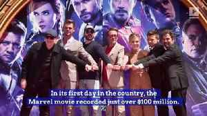 'Avengers: Endgame' Has Historic Debut in China [Video]