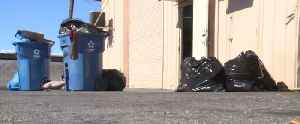 Trash troubles mount as garbage bags pile up for several Las Vegas businesses [Video]