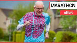 Brit pensioner with dementia about to tackle his 131st marathon - aged 78 [Video]