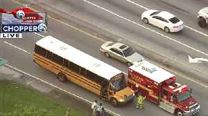 Students taken to hospital after school bus crash in West Palm Beach [Video]