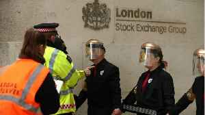 Environmental Activists Block London Stock Exchange [Video]