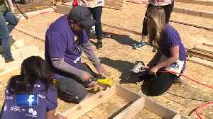 NBC26 help out at Women Build event hosted by Habitat for Humanity [Video]