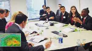 North Texas Students Partake In Euro-Challenge [Video]