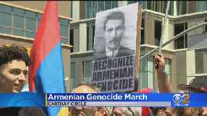 Thousands In LA Commemorate 104th Anniversary Of The Armenian Genocide [Video]