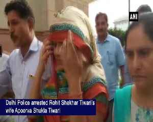 Rohit Tiwari murder case Police arrests wife Apoorva Shukla brought to Saket court [Video]