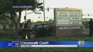 PTSD Issues May Have Led To Sunnyvale Crosswalk Crash [Video]
