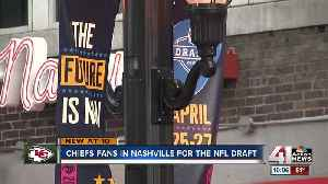 Chiefs fans in Nashville ready to kick off 2019 NFL Draft [Video]