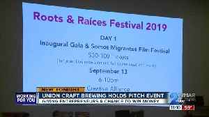Local businesses pitch their ideas for a chance to win $1,000 [Video]
