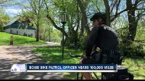 Boise Bike Patrol Officer bikes nearly 100 thousand miles [Video]
