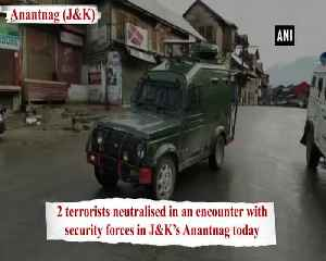Anantnag encounter Two terrorists neutralised [Video]