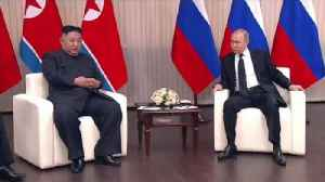 News video: Kim and Putin meet for first summit