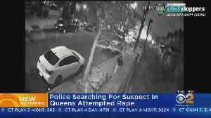 Search For Attempted Rape Suspect In Queens [Video]