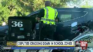 Deputies cracking down on school zone speeders all week as part of a statewide campaign [Video]