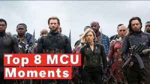 The 8 Funniest Marvel Cinematic Universe Moments From All 21 Movies [Video]