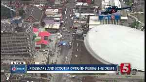 Taking a rideshare to the NFL Draft? Here's what you need to know [Video]