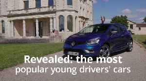 Revealed: The most popular cars among young drivers [Video]