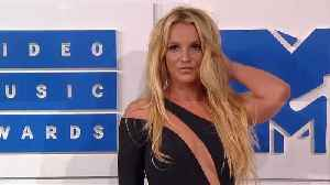 News video: Britney Spears working out to relieve stress