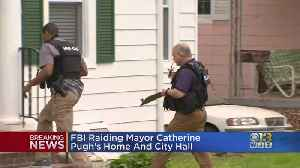 FBI, IRS Criminal Division Searches Baltimore Mayor Pugh's House [Video]