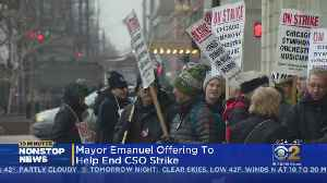 Mayor Offers To Help End Chicago Symphony Orchestra Strike [Video]