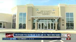 Lee County Teachers trying to get more pay [Video]