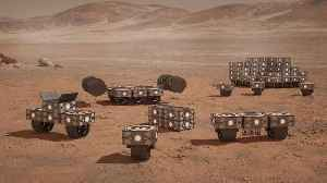 Robots for building homes on Mars [Video]