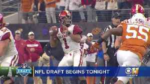 Kyler Murray Expected To Go High In 1st Round Of NFL Draft [Video]